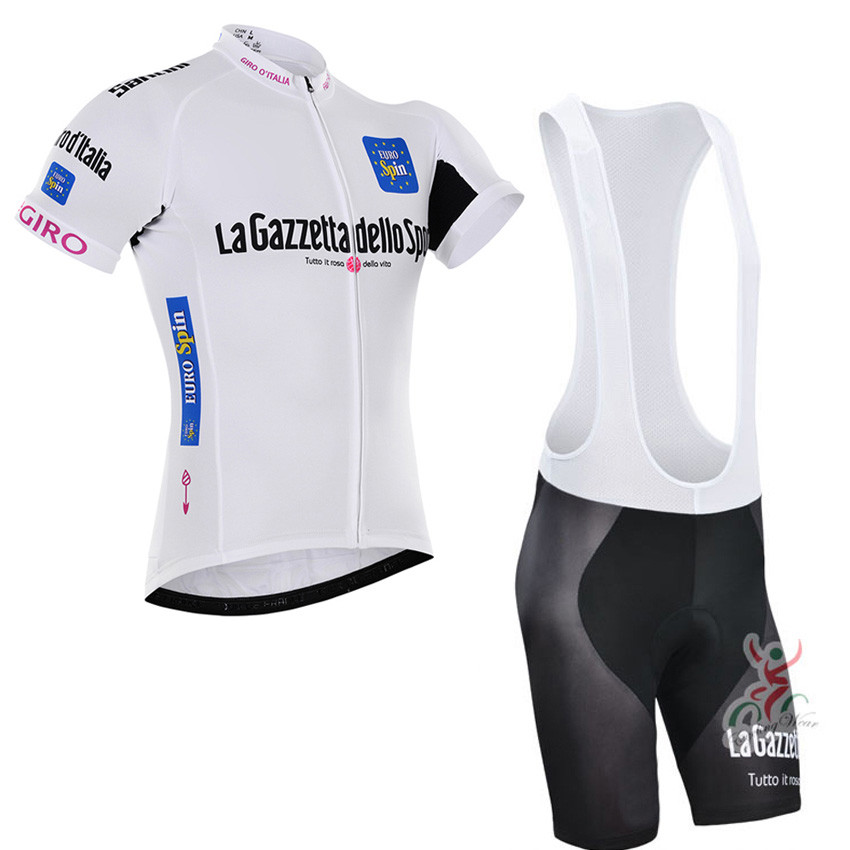 Cycling jersey white dress