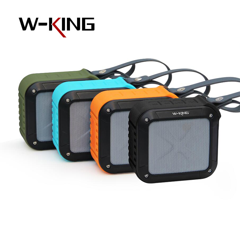 W KING S7 mini portable Wireless waterproof Loudspeaker with TF FM AUX NFC outdoors bluetooth bike