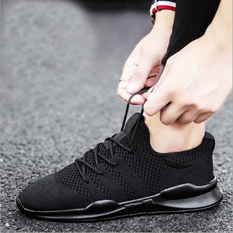 Summer light breathable wild casual men's shoes increased mesh large - Men's Shoes - Photo 2