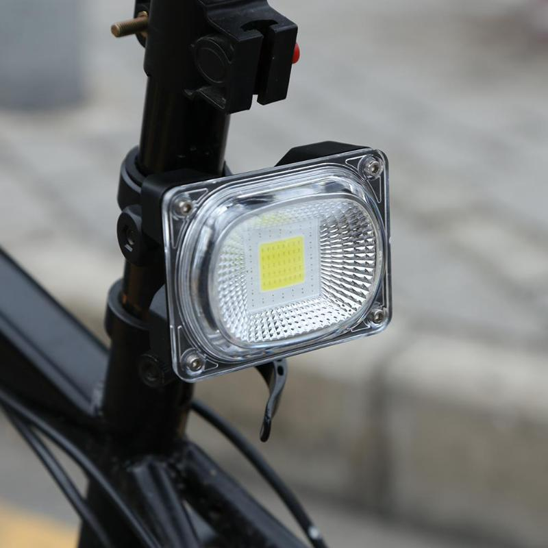 Bike Rear Light Rechargeable COB LED Lamp 20W 500 Lumen Bicycle Taillight MTB Safety Warning Tail-lamp