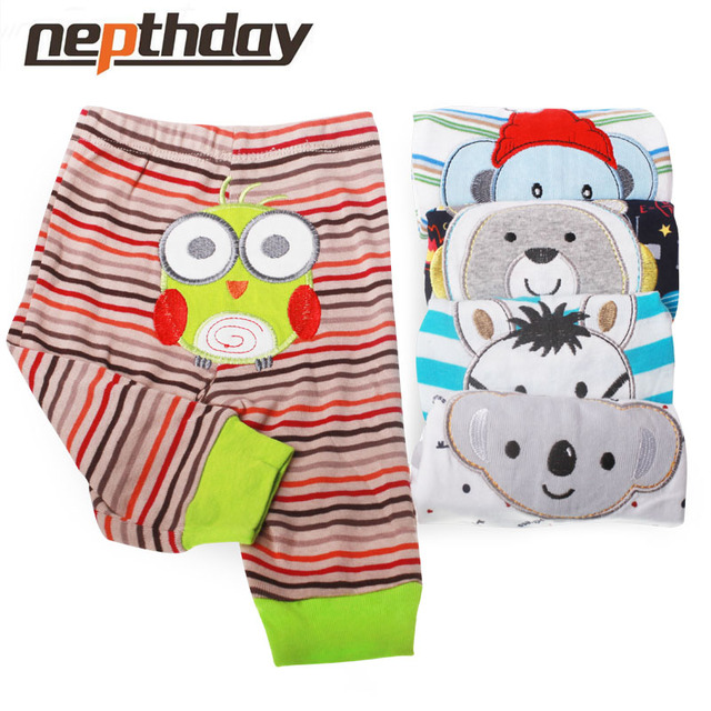 PP Pants 5pcs/lot 2016 Baby Fashion Model Babe Pants Cartoon Animal Printing Baby Trousers Kid Wear Baby Pants15-199 1