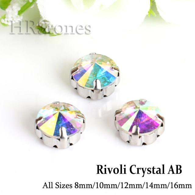 Rivoli Claw Strass Sewing On Crystal AB Wedding Rhinestones arts crafts sewing  Crystals Strass For Wedding 64547353ff41