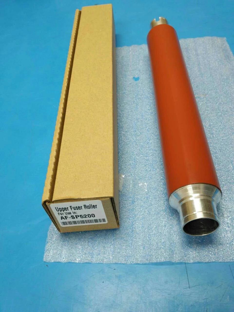 Pour Ricoh SP5200 SP5210 SP5200S SP5200DN SP5210DN SP5210SF SP5210SR rouleau de fusion supérieur, pour Ricoh M052-4101 M0524101 rouleau supérieur