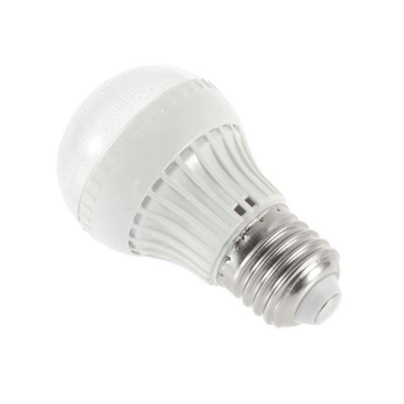 Mabor Luminaria E27 LED Lamp 5W Microwave Radar Sensor Light Lamp Bulb AC 85-265V White Bright hzled e27 5w 450lm 3200k 48 x smd 3014 led warm white light lamp white silver ac 85 265v