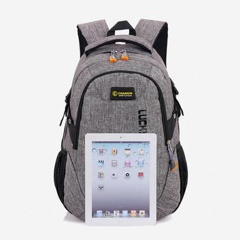 2020 New Fashion Men's Backpack Bag Male Polyester Laptop Backpack  6