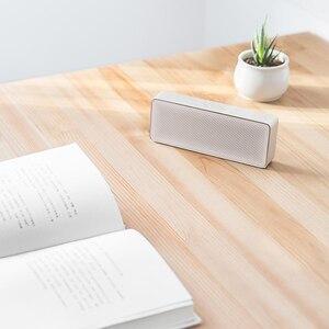 Image 5 - Xiaomi Mi głośnik Bluetooth kwadratowe pudełko 2 Stereo przenośny Bluetooth 4.2 HD wysokiej rozdzielczości jakość dźwięku odtwarzaj muzykę