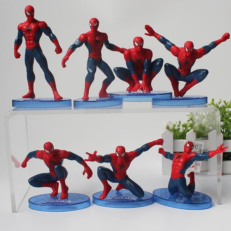 7style-spiderman-figure-font-b-avengers-b-font-spider-man-mini-model-doll-pvc-kids-toys