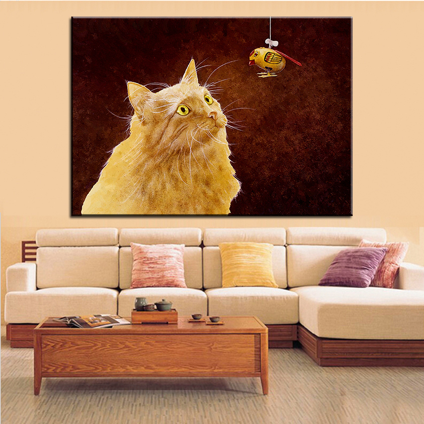 Large size Printing Oil Painting target practice Wall painting Wall Art Decoration Picture For Living Room painting No Frame ...