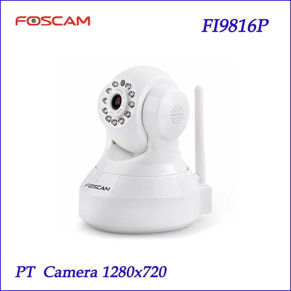 bilder für P2P Foscam FI9816P Drahtlose HD 720 P Ip-kamera H.264 SD Speicher DDNS Onvif Weiß Sicherheit CCTV-IP-KAMERA