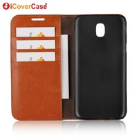 Luxury Leather Case For Samsung Galaxy J7 2017 Case J730 Flip Cover Funda For Samsung J7