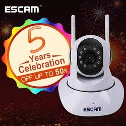 ESCAM G02 Dual Antenna 720P Pan/Tilt WiFi IP IR Camera Support ONVIF Max Up to 128GB Video Monitor ip camera