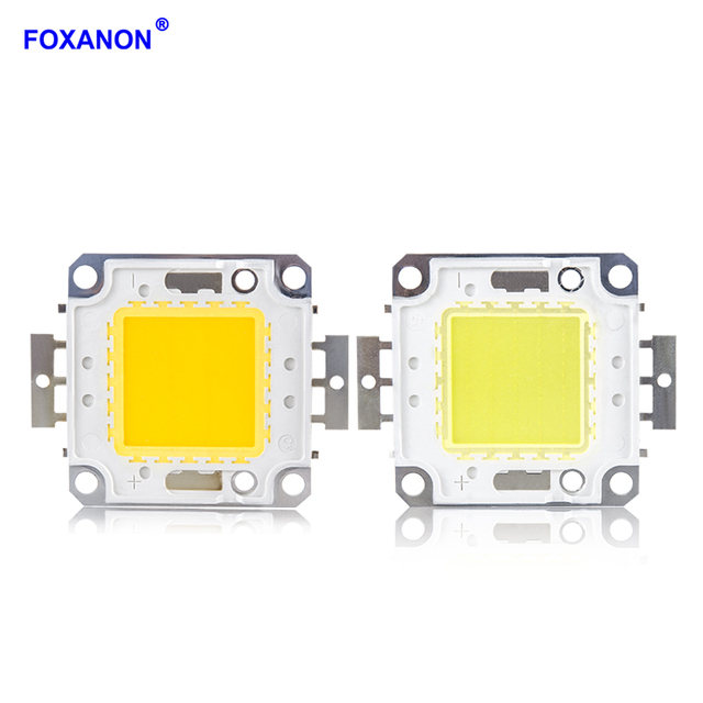 Foxanon Matrix LED Light DC12V 36V 10W 20W 30W 50W 100W COB Lamp High Power Lamp Integrated Lights For DIY Floodlight Spotlights