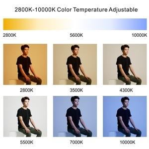 Image 5 - فالكون عيون 100 واط RGB LED الفيديو الضوئي دعم APP التحكم عن بعد المحمولة 8 المشهد وسائط مصباح الإضاءة المستمر RX 818