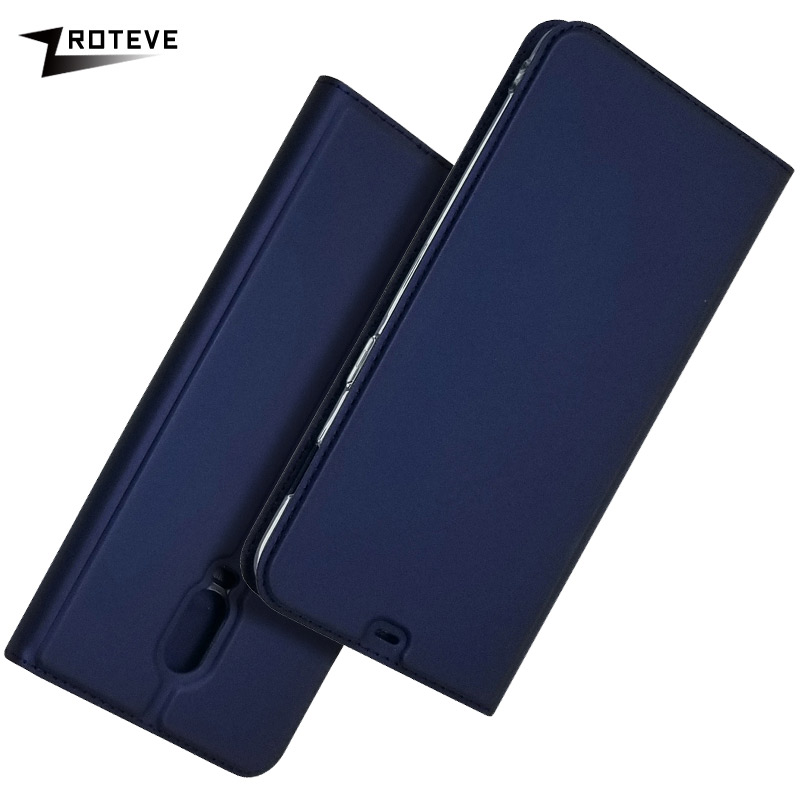 OnePlus 6T Case Cover ZROTEVE Leather Wallet Coque For OnePlus 6 T Case Oneplus 6 Flip Stand Cover One Plus 6 T OnePlus6 TCases