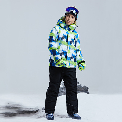 Warm Waterproof Child Coat Ski Suit Heavyweight Boys Jackets Kids Clothes Sets Winter Outfits Children Outerwear 4 16 Years Old in Clothing Sets from Mother Kids