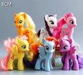 POP Minha adorável 8 cm Coleção Cavalos Unicórnio Dos Desenhos Animados do PVC Brinquedos Poni Feriado de Aniversário Das Crianças boneca de Presente de Natal para As Meninas