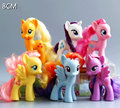 POP My lovely 8cm Collection PVC Cartoon Unicorn Poni Toys Children Birthday Holiday Horses Christmas doll Gift for Girls