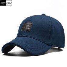 [NORTHWOOD] Высококачественная брендовая мужская хлопковая бейсболка, Женская Бейсболка, одноцветная шапка для папы, хлопок, Кепка для водителя грузовика, для взрослых