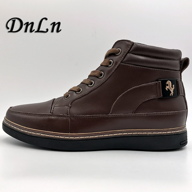 Autumn Winter Men Boots Big Size 40-48 Vintage Style Men Shoes Casual Fashion High-Cut L ...