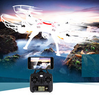 Abbyfrank X5C RC Drone with 2MP Camera Airplane 2MP HD Drone 2.4G Airplane 4 CH 6 Axis Remote Control Quadcopter Plane RC Toys