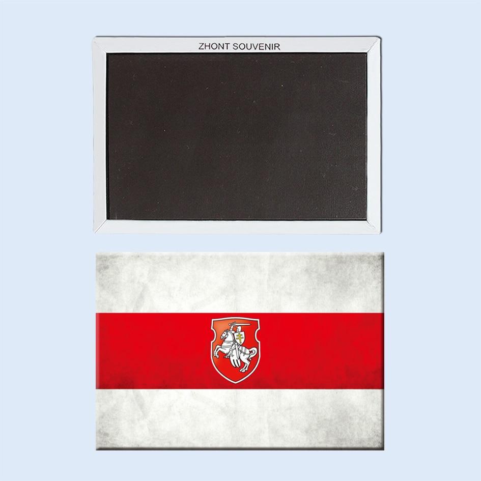 Flag Magnets, Belarus Souvenir fridge Magnets 21491
