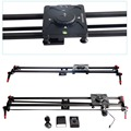 ASHANKS Carbon Camera Slide Follow Focus Pan Motorized Electric Control Delay Dolly Slider Track Rail for Timelapse Photography