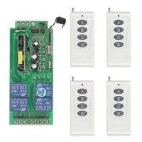 1000m Long Distance 10A Relay AC 220V 110V 85 265V 4 CH 4CH Wireless RF Remote