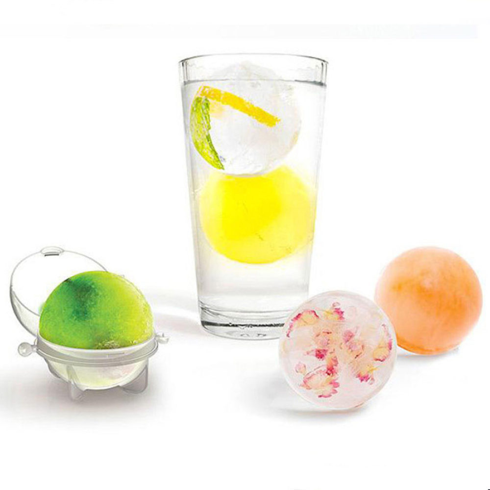 1pcs Big Size Ice Ball Molds DIY Home Bar Party Cocktail Use Sphere Round Ball Ice Cube Makers Kitchen Ice Cream Moulds