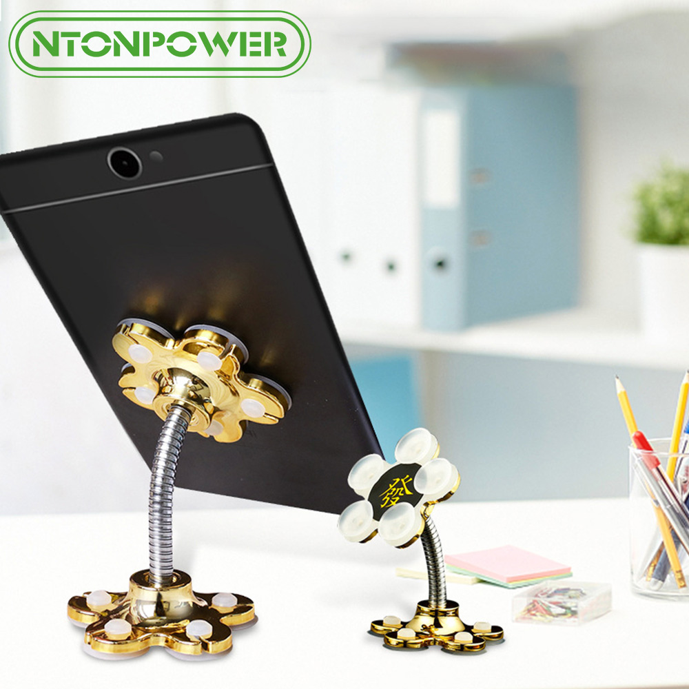 NTONPOWER Phone stand Holder Suitable for Cars and Desk