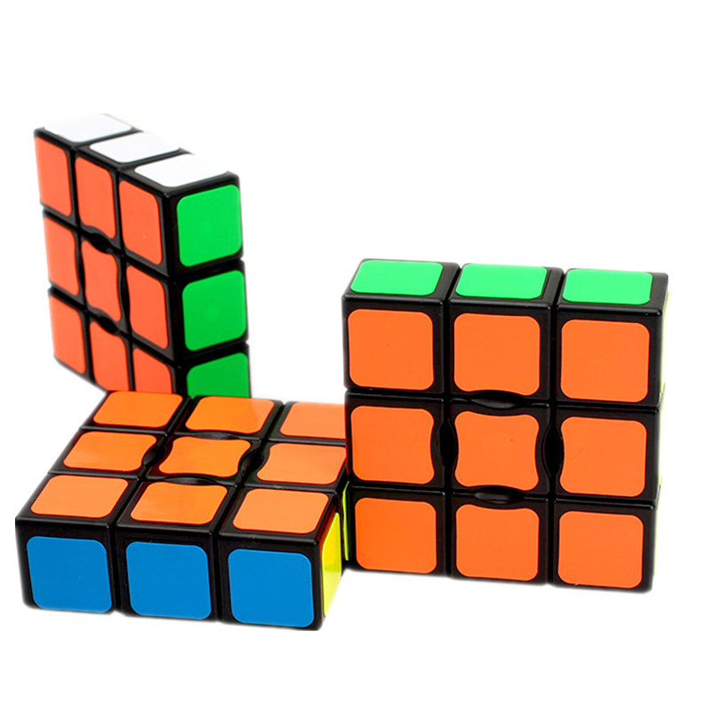 ZCUBE 56x56x20 Classic Magic Toy Cube 1x3x3 Block Puzzle Speed Cube Colorful Learn&Educational Puzzle Toy Children Gift