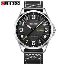 CURREN 8269 Hombres Reloj de Pulsera Hombre de Primeras Marcas de Lujo Relojes Deportivos Masculinos de Cuero Militar Del Ejército Reloj Para Hombre Relojes Hombre