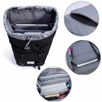 KALIDI Laptop Bag Backpack 15.6 - 17.3 Inch For Men Women Travel School Bag For Macbook Air Pro 15 17 Fashion Notebook Bag USB