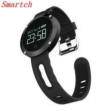 Smartch DM58 умный Браслет Водонепроницаемый Спорт часы bluetooth сердечного ритма Приборы для измерения артериального давления смарт-браслет Фитнес трекер для IOS в