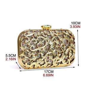 Image 2 - SEKUSA Hollow Outผู้หญิงสไตล์กระเป๋าSequinedงานแต่งงานClutchesขนาดเล็กกระเป๋าสะพายกระเป๋าถือ