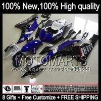 Blue Black Body Body For YAMAHA YZFR6 06 07 YZF 600 YZF R 6 YZF600 JK9611