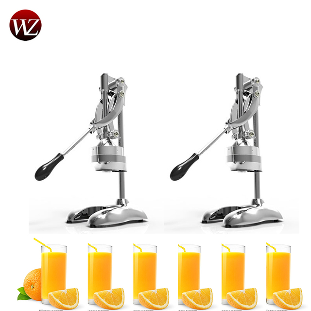 Stainless Steel commercial lemon orange pomegranate fruit juice extractor manual hand press squeezer citrus Fruit Pressing Machi 1