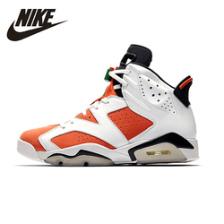 NIKE Air Jordan 6 Retro Like Mike AJ6 Mens Basketball Shoes Stability Comfortable Support Sports Sneakers For Men Shoes