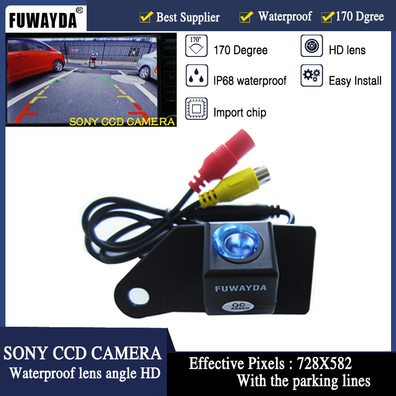 FUWAYDA Free Shipping SONYCCD Chip Special Car Rear View Reverse Backup Parking Safety DVD GPS font