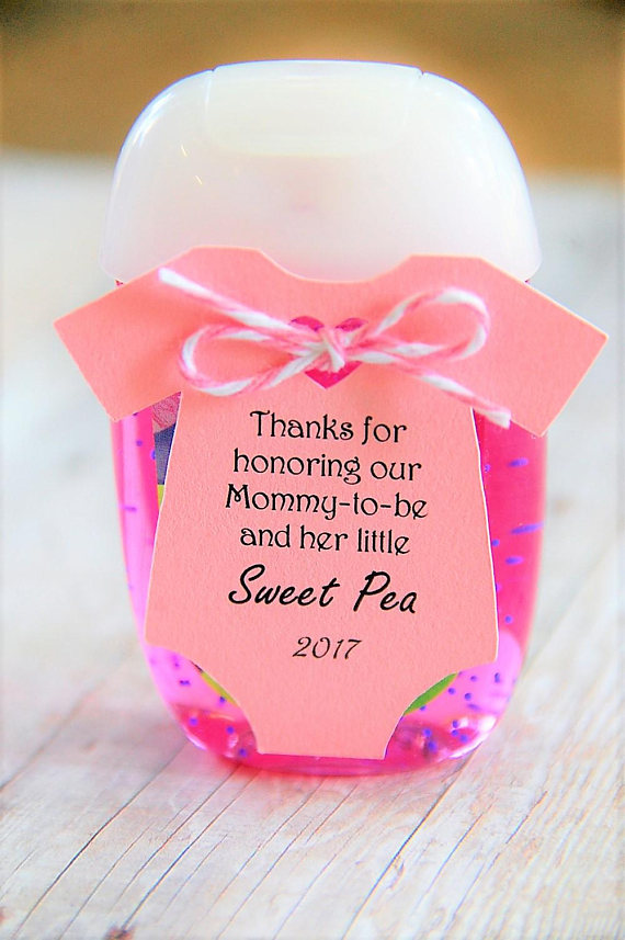 Personalised Baby Shower Tags Mum-to-be favour tags  Customised Thank You Tags
