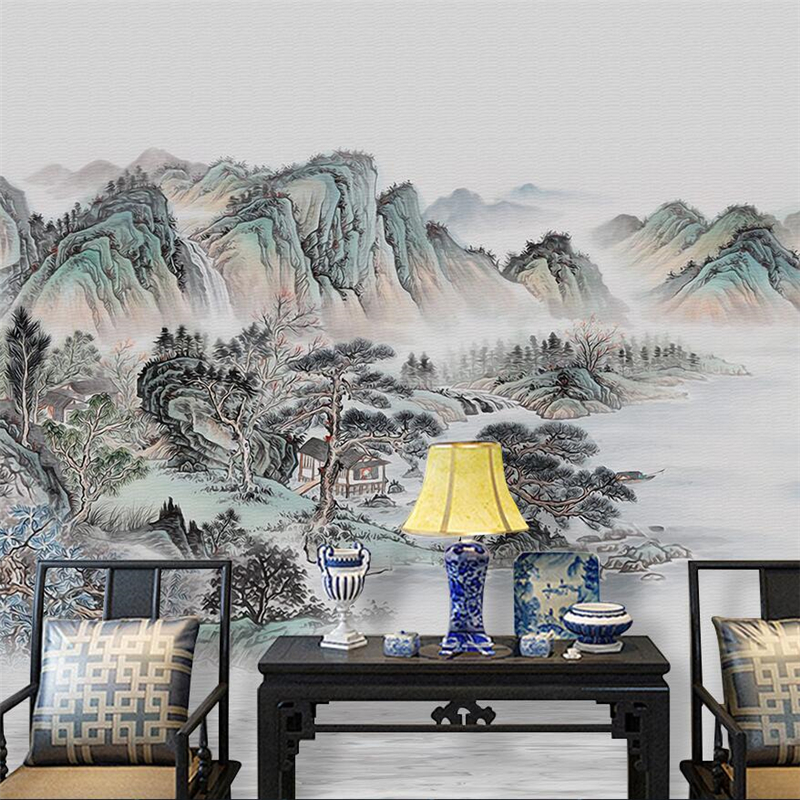 Beibehang New Chinese Mood Abstract Abstract Ink Landscape