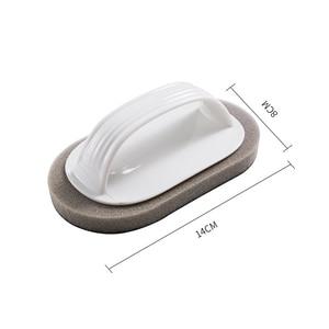 Image 5 - Czyste pędzel z uchwytem magiczna gąbka wytrzeć kuchnia odkażanie miska Pot szczotka do czyszczenia okien Cleaner akcesoria łazienkowe