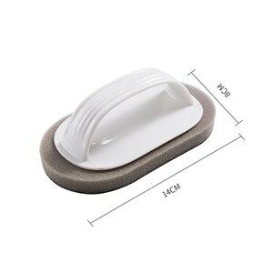 Image 5 - Sauberen Pinsel Mit Griff Magie Schwamm Wischen Küche Dekontamination Schüssel Topf Reinigung Pinsel Windows Reiniger Bad Zubehör