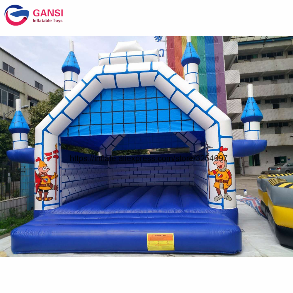 ad5f903f6 Bouncer inflable para niños con soplador gratis 6,5*5*5 m tienda inflable  de Castillo de rebote para deportes de salto juego