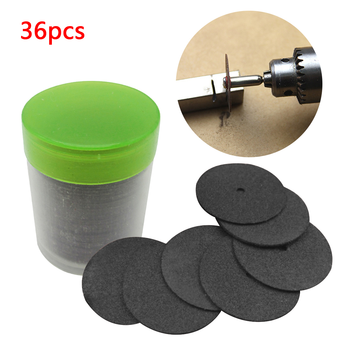 24mm Cut Off Grinding Wheels Abrasive Cutting Discs Accessori Dremel For Dremel Rotary Tools Electric Metal Wood Cutting Tool