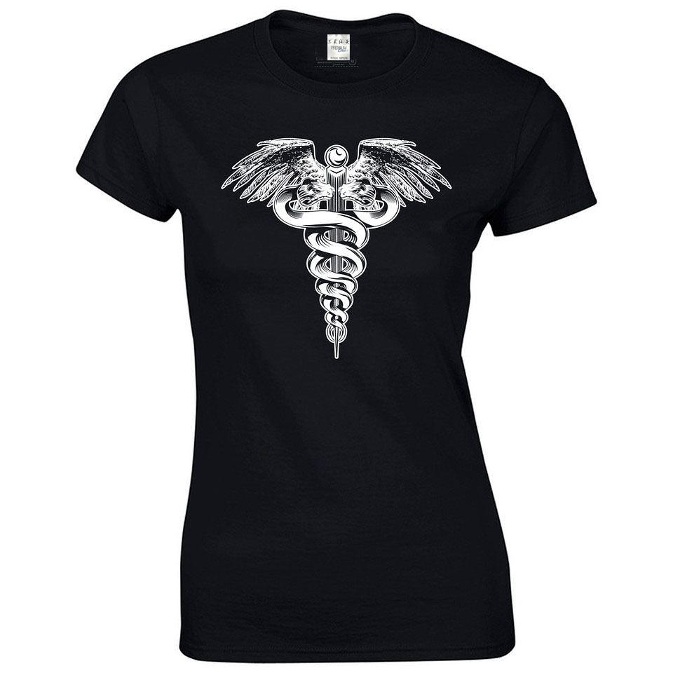 Fashion Brand Design T Shirts Casual Cool Mom Nurse New Medical Tee Ems S Adult Gift casual tee Lady Short Sleeve T-shirt