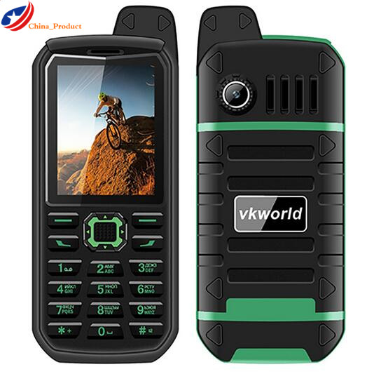 VKWorld Stone V3 Plus 4000mAh battery Dual SIM IP54 waterproof 2 4Inch Dustproof Moible phone Bluetooth