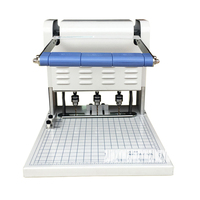 1 pc Drei-loch elektrische bindung maschine Papier Puncher QY-40A Draht Bindung Maschine Papier Cutter Dekorative Locher