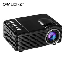 OWLENZ SD30 Mini Pocket Size Portable LED Projector Best Playmate Toy for Children as Gift Rechargeable Built-in 1000mAh Battery(China)