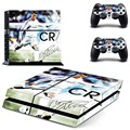 Whole Body VINYL SKIN STICKER DECAL COVER for PS4 Playstation 4 System Console and Controllers - CR7 Cristiano Ronaldo
