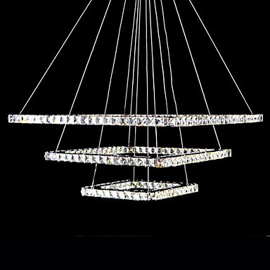 Modern LED Crystal Pendant Lights Lamp For Living Dinning Room, Lustres De Cristal Sala Teto a1 master bedroom living room lamp crystal pendant lights dining room lamp european style dual use fashion pendant lamps